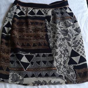 Dorothy Shoelen Platinum vintage designer skirt